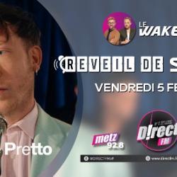 Eddy de Pretto dans le reveil de Stars sur D!RECT FM