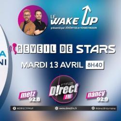 Clara Luciani dans le reveil de stars sur D!RECT FM
